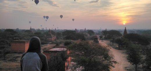 Bagan during sunrise