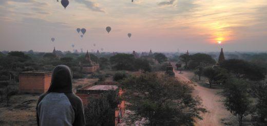 Bagan during sunrise