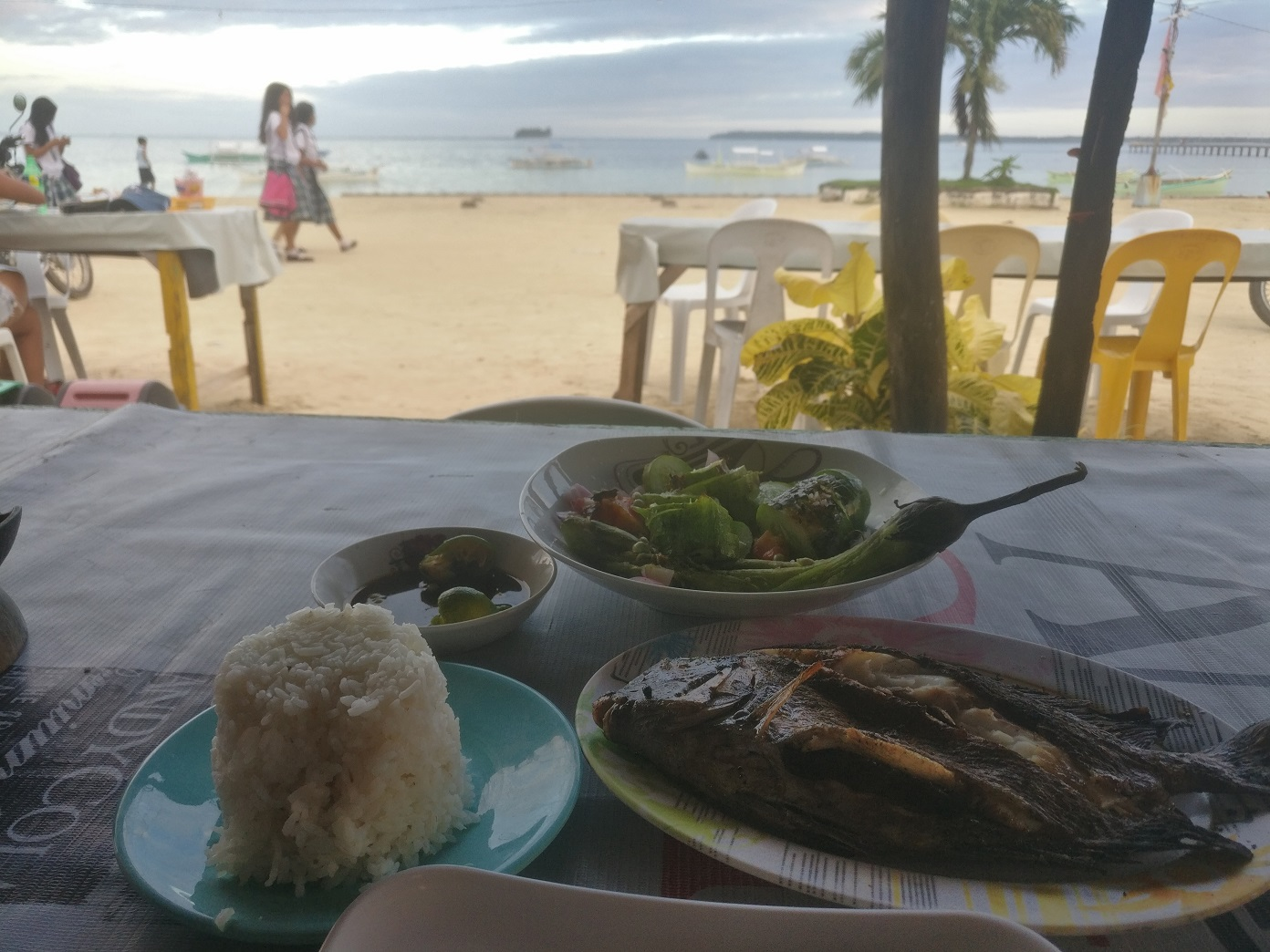 Eating out in Siargao