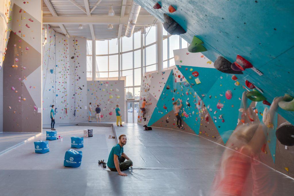 Climbing Gym in Vilnius