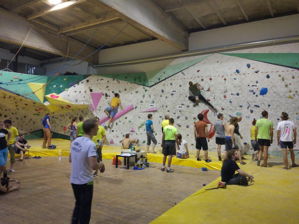 Rock climbing gym in Kaunas
