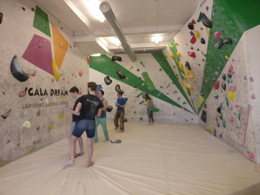 Rock climbing Gym in Klaipėda