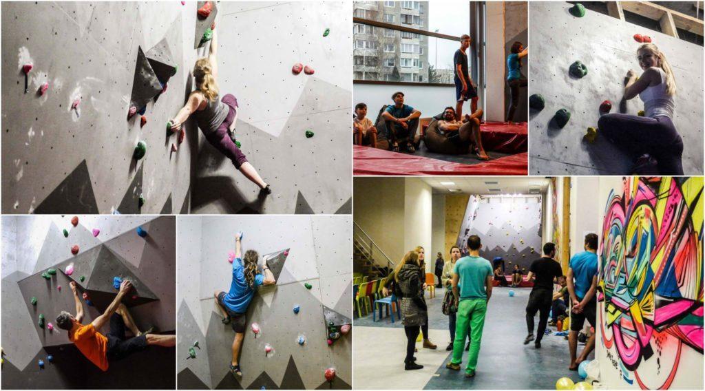 RockOn Climbing Gym in Vilnius