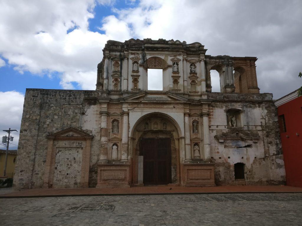 Old buildings in Antigua