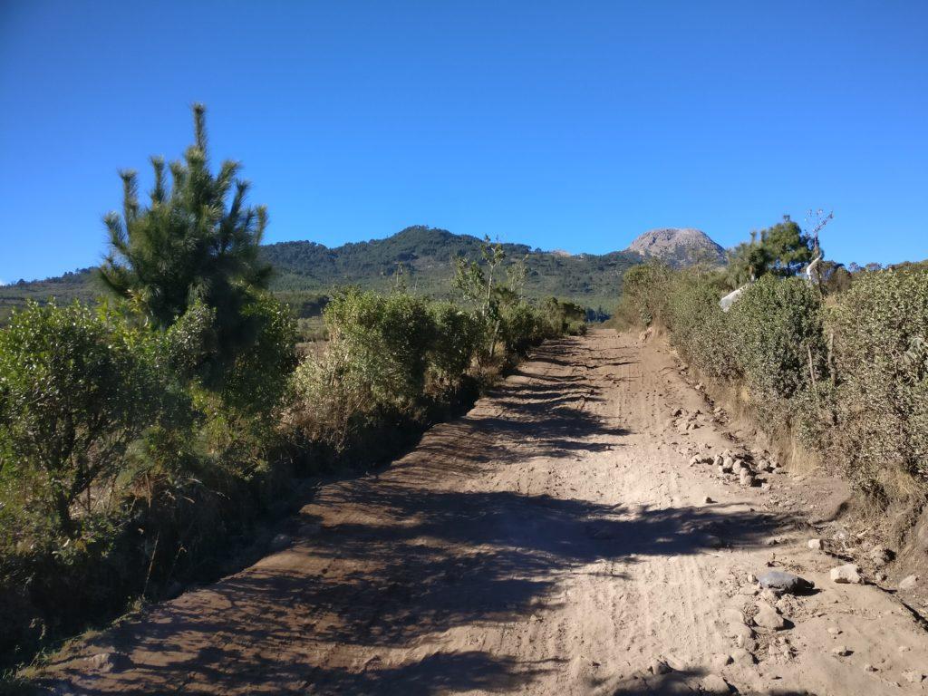Climbing volcano Tajumulco