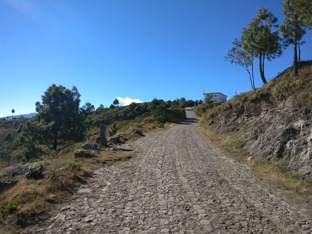 Tajumulco volcano hike