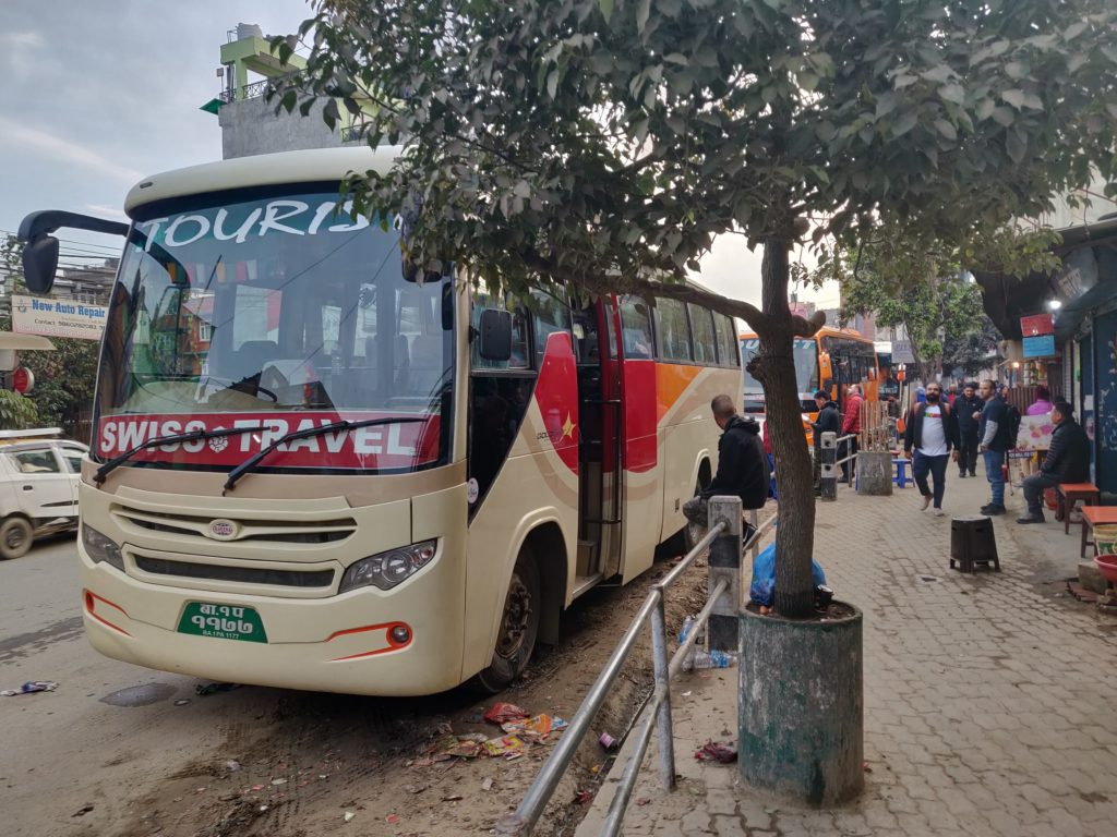 Thamel to Pokhara tourist bus